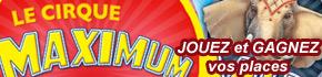 jeu places gratuites Cirque Maximum