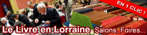 Les Salons du Livre en Lorraine