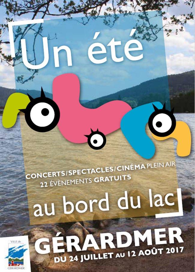 Un Eté au Bord du Lac Gérardmer 2017
