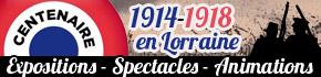 Programme Centenaire Guerre 14 - 18 en Lorraine