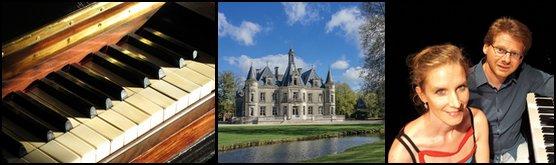 Dîner Concert Piano Château Thillombois