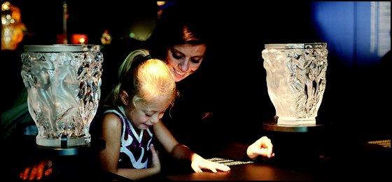 Table Tactile Musée Lalique