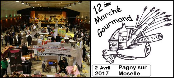 Marché Campagnard Lorraine Pagny sur Moselle 2017
