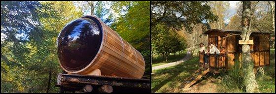Hébergement Insolite Original Vosges Camping Mettey