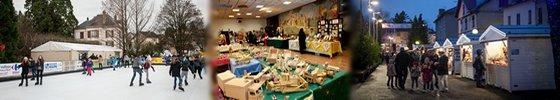 Marché de Noël et Patinoire à Vittel 2015