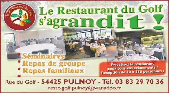 Restaurant du Golf Nancy Pulnoy Terrasse