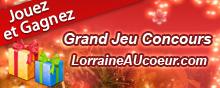 Grand jeu de Noël sur LorraineAUcoeur en 2016.