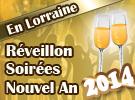 Soir�e repas menu r�veillon Nouvel An 2013 2014 en Lorraine 54, 55, 57, 88 Meurthe-et-Moselle Vosges Meuse