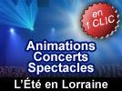 Festivités de l'été en Lorraine, spectacles, feux d'artifices, concerts, animations, sorties gratuites en Moselle, Meuse, Vosges, Meurthe-et-Moselle
