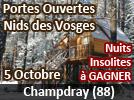 Portes Ouvertes Nids des Vosges à Champdray