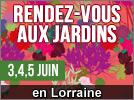 Portes Ouvertes aux Jardins 2016 en Lorraine