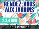 Rendez-vous aux Jardins Portes Ouvertes en Lorraine