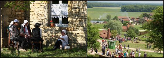 Estivales vieux village azannes