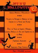 Menu Halloween au Grand H�tel Plombi�res