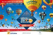 Lorraine Mondial Air Ballons 2015 montgolfières à Chambley 54890 Chambley-Bussières du 24-07-2015 à 09:00 au 02-08-2015 à 22:00
