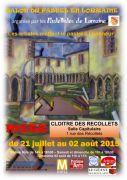 Salon du Pastel � Metz Clo�tre des R�collets
