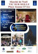 Marché de Noël Vic-sur-Seille 57630 Vic-sur-Seille du 02-12-2016 à 15:00 au 18-12-2016 à 16:00