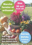 March� Artisanal aux Serres Duval � Ceintrey