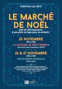 Marché de Noël à Montigny-les-Metz 57950 Montigny-lès-Metz du 25-11-2016 à 12:00 au 27-11-2016 à 17:00
