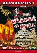 Marché de Noël de Remiremont 88200 Remiremont du 03-12-2016 à 08:00 au 24-12-2016 à 14:00