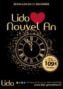 Réveillon à Gérardmer Nouvel An au Lido 88400 Gérardmer du 31-12-2016 à 18:00 au 01-01-2017 à 01:00
