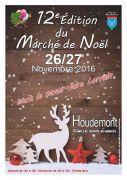 Marché de Noël à Houdemont 54180 Houdemont du 26-11-2016 à 12:00 au 27-11-2016 à 16:00