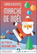 Marché de Noël de Sarreguemines 57200 Sarreguemines du 01-12-2016 à 09:00 au 24-12-2016 à 18:00