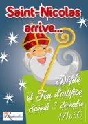 Défilé de Saint Nicolas à Rambervillers 88700 Rambervillers du 03-12-2016 à 15:30 au 03-12-2016 à 17:30