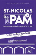 Défilé Saint-Nicolas à Pont-à-Mousson 54700 Pont-à-Mousson du 04-12-2016 à 14:30 au 04-12-2016 à 16:00