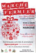 Marché Fermier Saint Nicolas à Haroué 54740 Haroué du 27-11-2016 à 07:00 au 27-11-2016 à 14:00