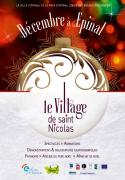 Village Noël Saint Nicolas à Epinal 88000 Epinal du 02-12-2016 à 09:00 au 31-12-2016 à 18:00