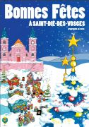 Marché et Animations de Noël Saint-Dié-des-Vosges 88100 Saint-Dié-des-Vosges du 03-12-2016 à 16:30 au 24-12-2016 à 16:00