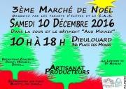 Marché de Noël à Dieulouard 54380 Dieulouard du 10-12-2016 à 08:00 au 10-12-2016 à 16:00