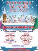 Patinoire de Noël à Saint Avold 57500 Saint-Avold du 03-12-2016 à 09:00 au 26-12-2016 à 15:00