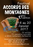 Festival Accords des Montagnes à La Bresse