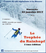 Le Trophée du Rainkopf à La Bresse  88250 La Bresse du 22-01-2017 à 07:30 au 22-01-2017 à 11:00