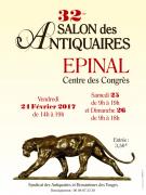 Salon des Antiquaires Epinal 88000 Epinal du 24-02-2017 à 12:00 au 26-02-2017 à 17:00
