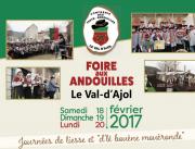 La Foire aux Andouilles au Val d'Ajol 88340 Le Val-d'Ajol du 18-02-2017 à 06:00 au 20-02-2017 à 16:00