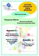 Stage de Magie Enfants à Yutz 57970 Yutz du 20-02-2017 à 08:00 au 24-02-2017 à 16:00