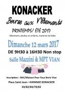 Bourse aux Vêtements à Hayange 57700 Hayange du 12-03-2017 à 09:30 au 12-03-2017 à 16:30
