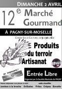 Marché Gourmand à Pagny-sur-Moselle 54530 Pagny-sur-Moselle du 02-04-2017 à 09:30 au 02-04-2017 à 18:00