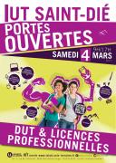 Journée Portes Ouvertes IUT Saint-Dié-des-Vosges