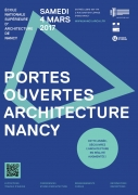 Journée Portes Ouverts Ecole Architecture Nancy 54000 Nancy du 04-03-2017 à 10:00 au 04-03-2017 à 17:00