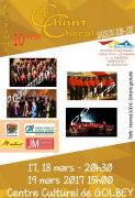 Festival de Chant Choral à Golbey