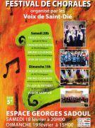 Festival de Chorales à Saint-Dié