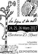 Exposition Des Lignes et des Mots à Mognéville 55800 Mognéville du 24-03-2017 à 13:00 au 26-03-2017 à 18:00