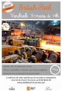 Visite Guidée British Steel à Hayange 57700 Hayange du 31-03-2017 à 14:00 au 31-03-2017 à 16:00