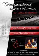 Dîner et Concert Piano à 4 Mains Château de Thillombois 55260 Thillombois du 25-03-2017 à 18:30 au 26-03-2017 à 17:00