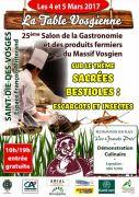 Salon Gastronomie la Table Vosgienne Saint-Dié-des-Vosges