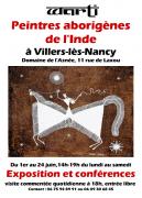 Exposition Warli, Peinture Aborigène à Villers-lès-Nancy